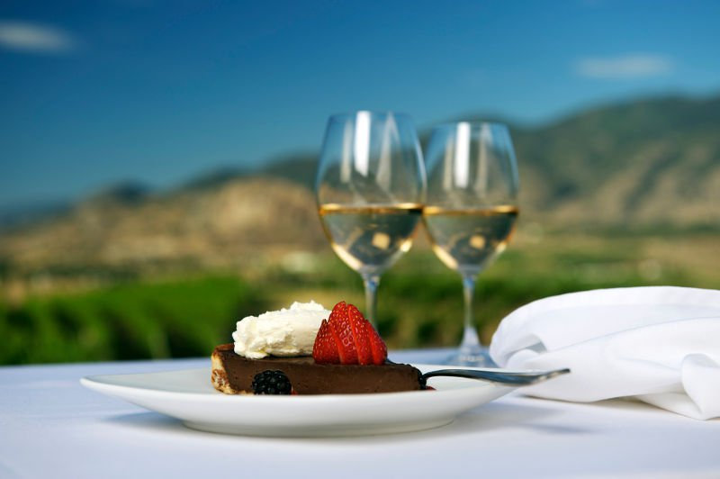 Wine and food in the Okanagan